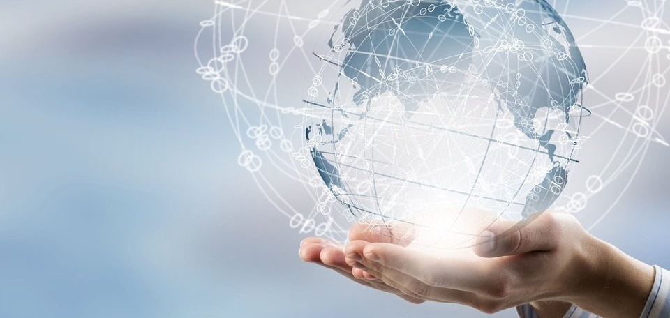 Global connection concept with digital planet in hands-927716-edited