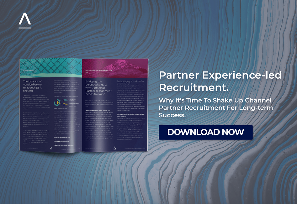 Partner experience-led recruitment insights report download ad