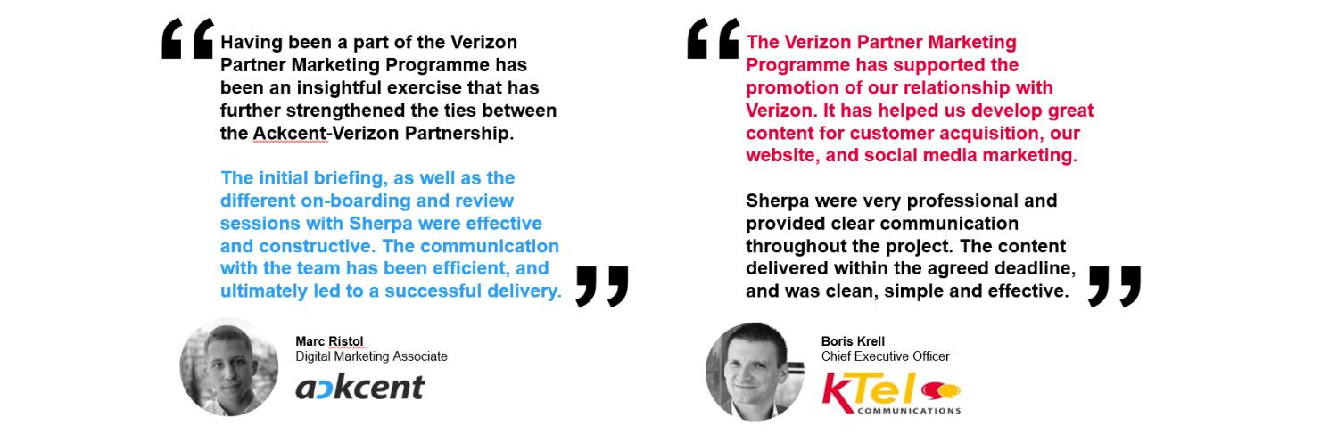 Verizon Partner Testimonials 1b