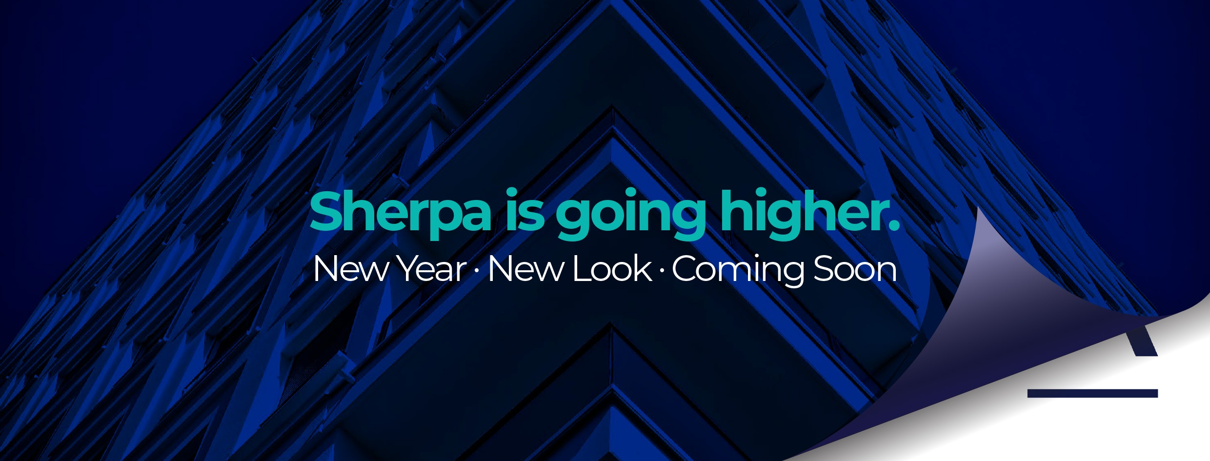 Sherpa is going higher...new look coming soon!