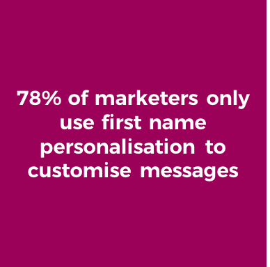 personalisation stat