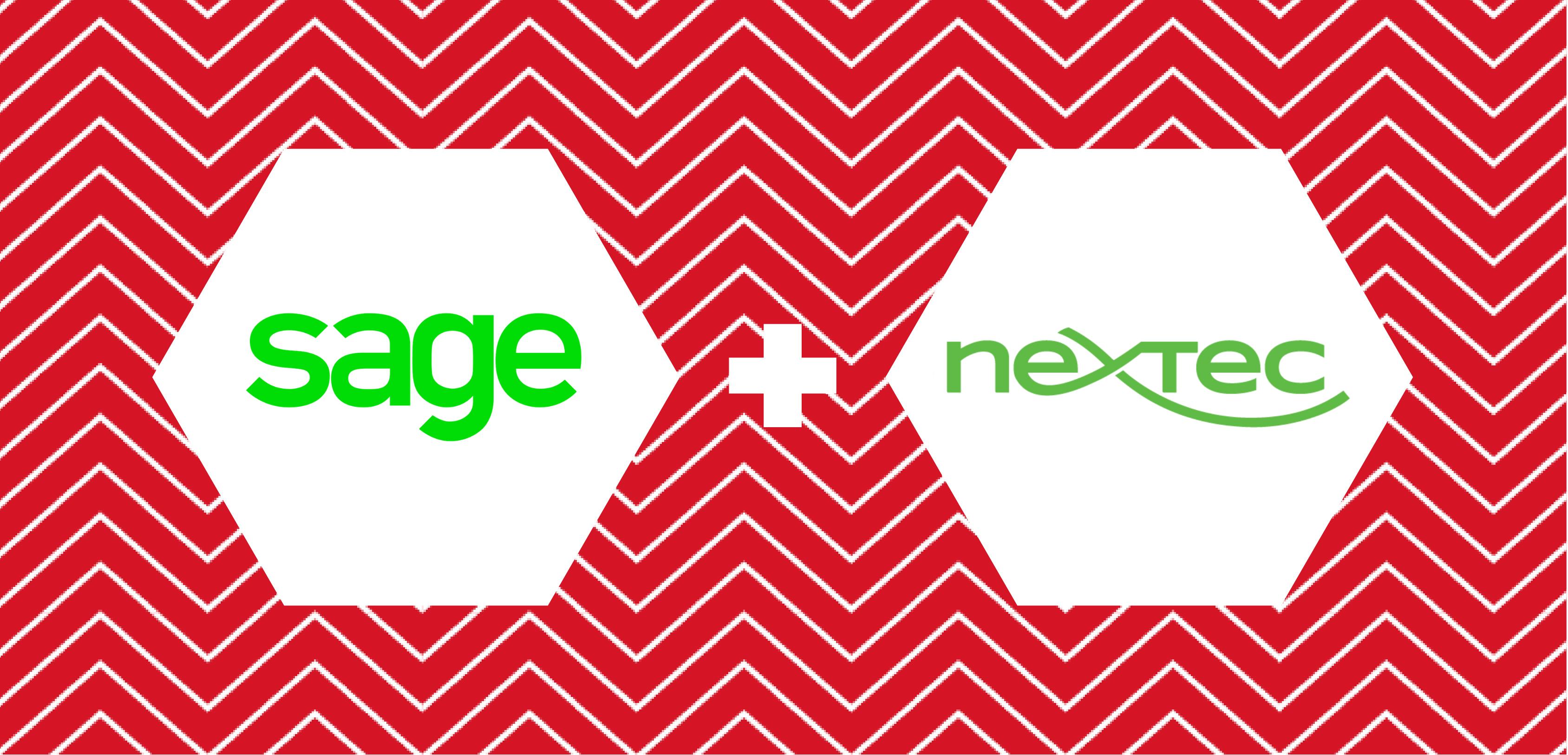 Sage and Nextec case study branding